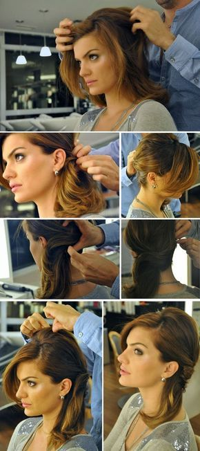 Madrinhas de casamento: Com detalhes: 2 penteados para cabelos médio