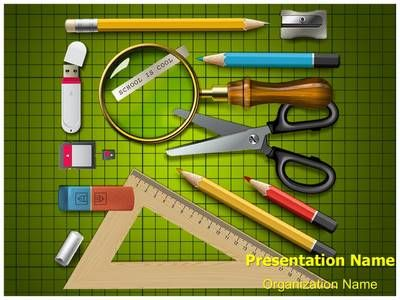96 best education powerpoint templates and backgrounds images on school supplies powerpoint template is one of the best powerpoint templates by editabletemplates toneelgroepblik Choice Image