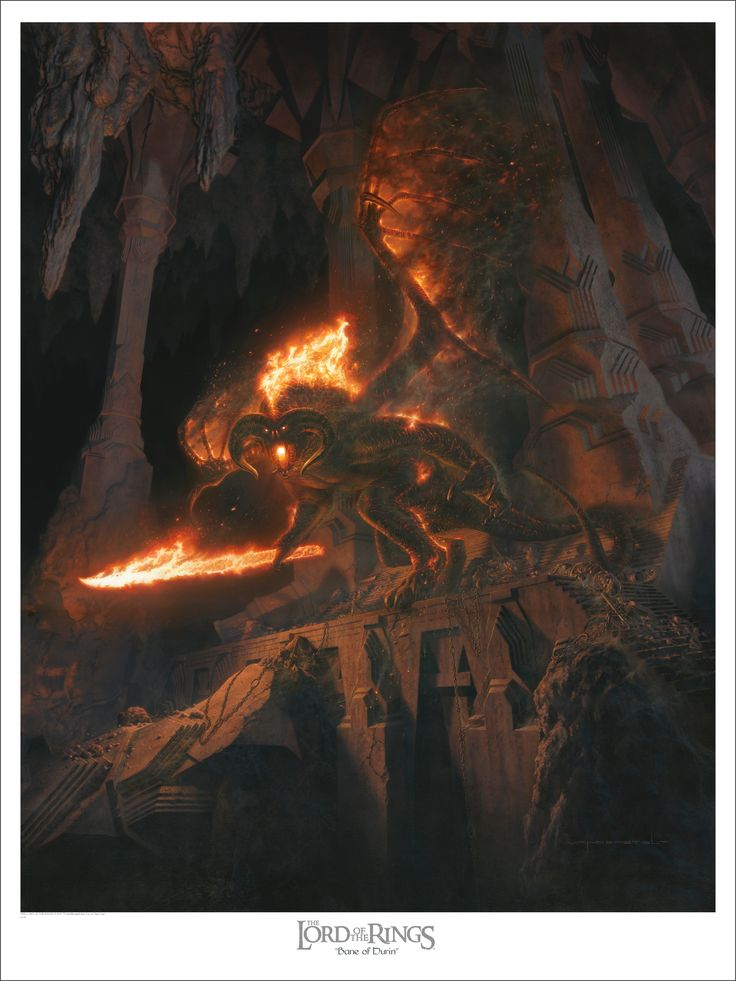 "The Balrog - ""Bane of Durin"" by Jerry Vanderstelt"