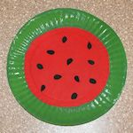 Art project to celebrate national watermelon day