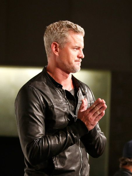 """Eric Dane Photos Photos - Actor Eric Dane speaks onstage at """"The Last Ship"""" panel during TNT at Comic-Con International: San Diego 2015 on July 9, 2015 in San Diego, California. 25568_001 - TNT at Comic-Con International: San Diego 2015 - 'The Last Ship' Panel"""