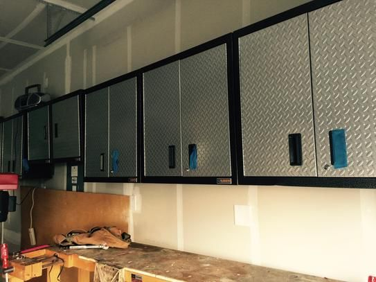 Garage Wall Cabinet Ideas: 1000+ Ideas About Garage Wall Cabinets On Pinterest