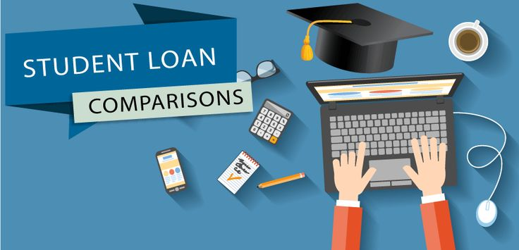 Studying made simpler with Fincheck's comparisons on the right student loan for you.