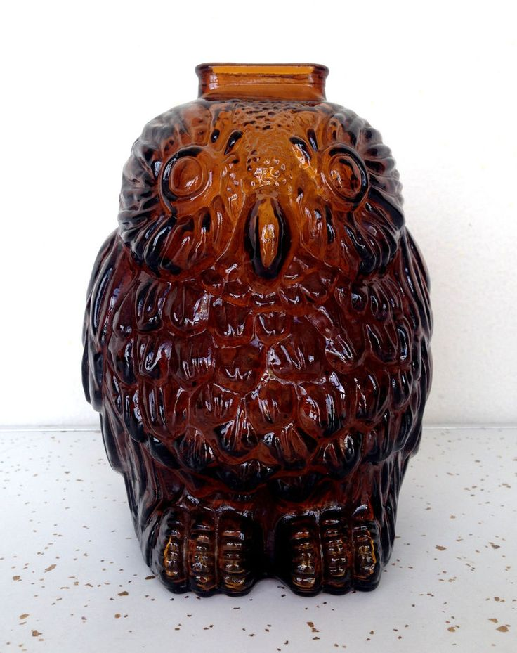 Vintage Wise Old Owl Retro Piggy Bank #MidCentury #Wise #Owl #Piggybank #Retro…