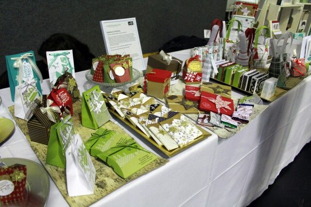 Weihnachtsmarkt Adventmarkt Stampin'UP Aigenmade.com