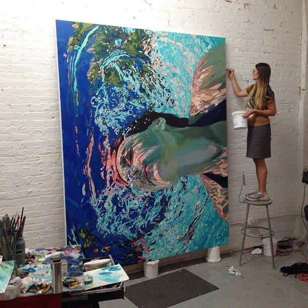 Samantha French's studio