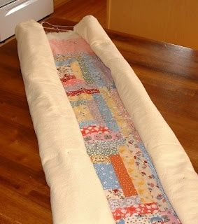 Machine Quilting your quilt on a Normal Machine..