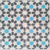 Misiones Encaustic Cement Tile www.encasutic-tiles.co.uk Poss for area outside kitchen