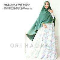 KHUMAIRAH DRESS GAMIS MAXI (DRESS SAJA TANPA KHIMAR)