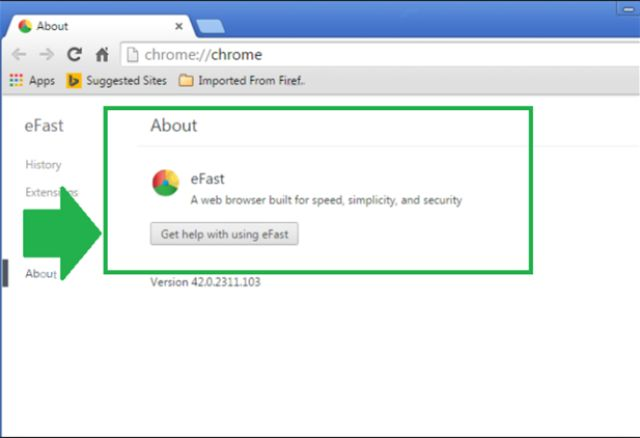 How to Remove eFast Browser Extension