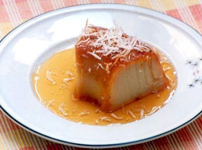 Flavors of Brazil: RECIPE - Sweet Potato Pudding (Pudim de Batata-Doce)