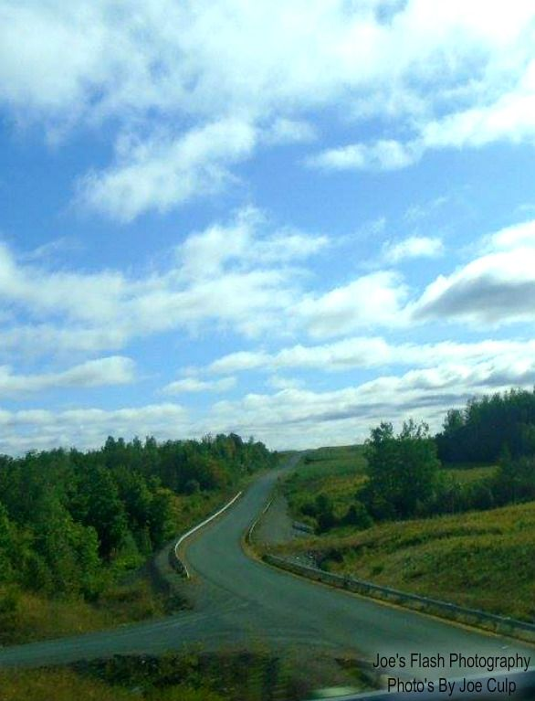 Dean Road taken between Florenceville and Perth Andover New Brunswick September 2, 2017