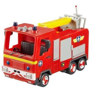 Fireman Sam Vehicle & Accessory Set - Jupiter Fire Engine Will
