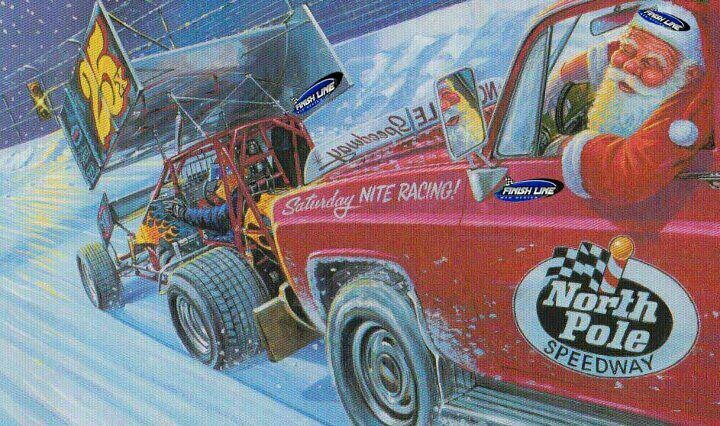 Sprint car Christmas!