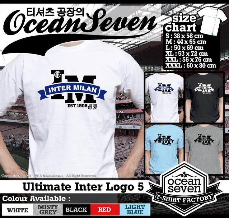 ourkios  - Logo Inter milan intersiti T- Shirt  - kaos  Logo Inter milan intersiti