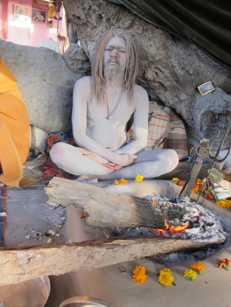 Naga Sadhu Cover Their Body In Ashes They Are Devotees Of Lord Shiva Haridwar