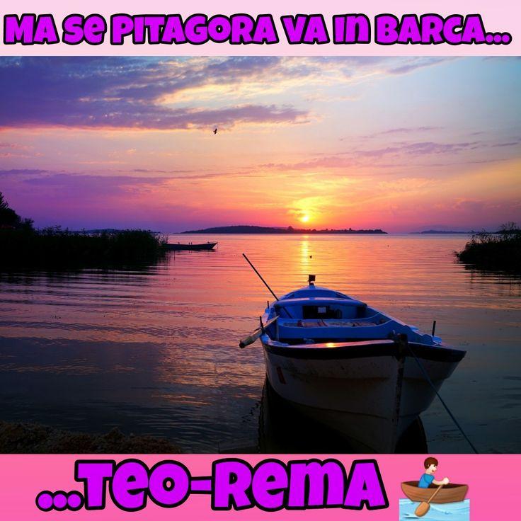 #funny #joke #battute #risate #indovinelli #humor #battute #immaginidivertenti #divertente #frasi #battutedivertenti #barzellette #risata #fraintendere #colmo #colmi #archimedepitagora #pitagora #teorema #teoremadipitagora #teoremapitagora #barca #tramonto #sunset #remi #remare #remo #sun #boat