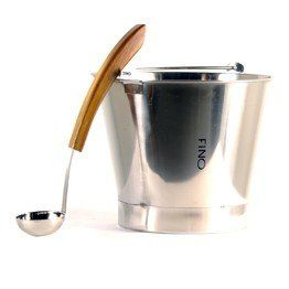 25 Gallon Stainless Steel Bucket with Matching Ladle *** Click the image to visit the Amazon website