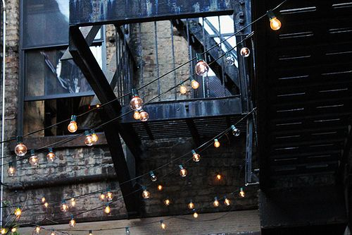 city lights: Interiors Inspiration, Nyc Style, Fairies Lights, Graphics Design, String Lights, Rodeo Lights, Outdoor Spaces, Random Inspiration, Aw 13 Inspiration