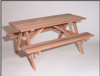 picnic table kit check size 5 from greenfield creations http - Picnic Table Kit