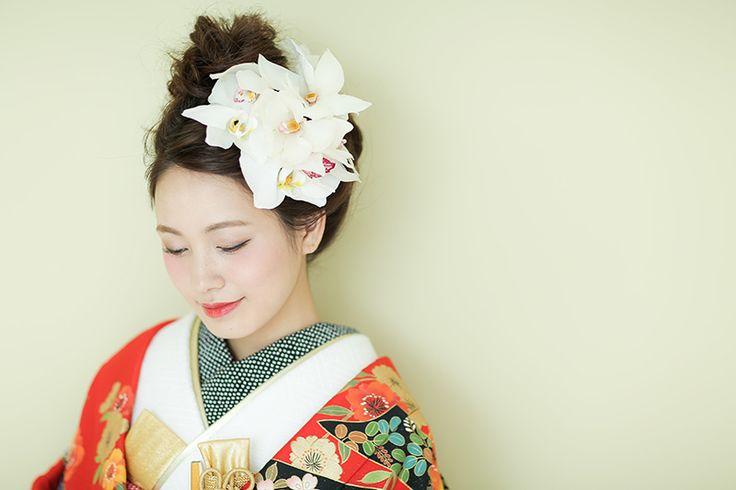 おしゃれなの着物コーディネート・髪型は結婚式着物専門【THE KIMONO SHOP−ザ・キモノショップ】