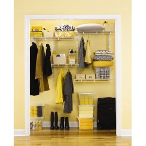 Rubbermaid Multi Purpose Deep Closet Kit Complete Walk In Closet  Organization For $110 @