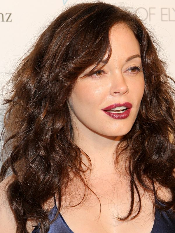 Rose mcgowan hair remarkable, very