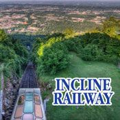 Lookout Mountain Attractions - Incline Railway Tickets