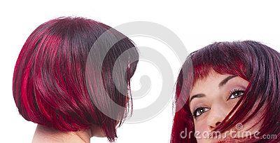 Red hairs - attrezzature, benessere, capelli, carnagione, colore, cura, della pelle , fondo bianco, isolato, lusso, rosso, salone, strumento, umani, vicino, Acconciatura, Bellezza, Glamour, Modello, San Valentino, affascinano, ama, attraenti, background, barberia , coiffure, cosmetologo, day, fashion, female, hairdresser, healthy, look, makeup, ottima, parrucchiere, ragazza, redhead, scissors, spa, splendida, style, stylist, woman, young