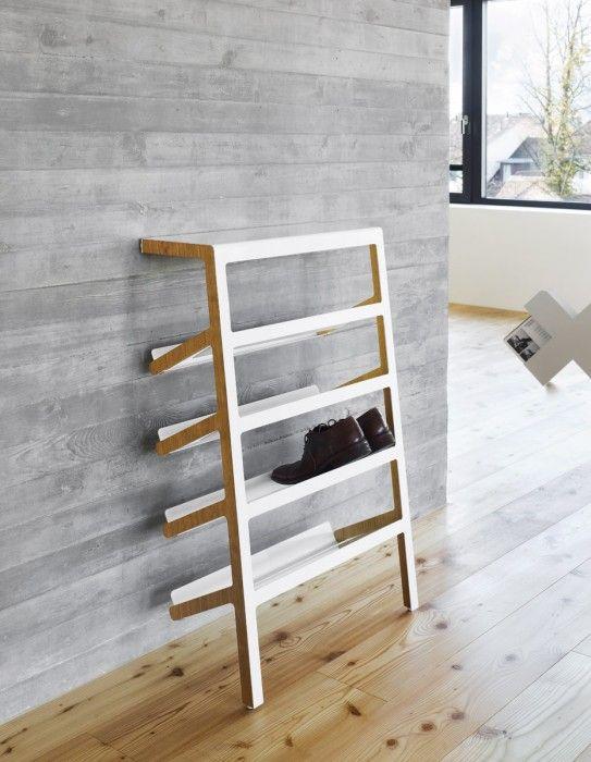 MOX Schuhregal Mila - Dielenmöbel & Schuhschränke - Garderoben - Dielenmöbel & Schuhschränke bei 1001stuhl.de