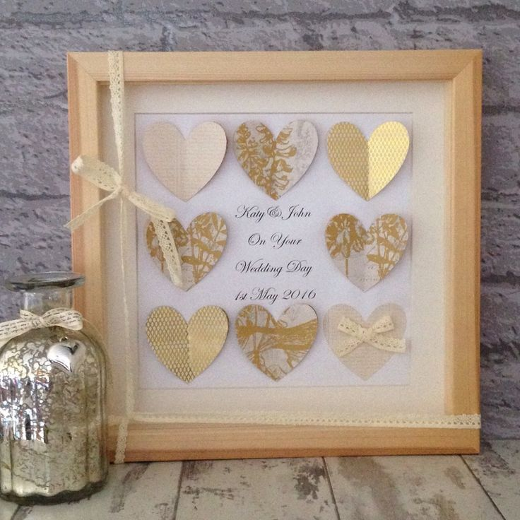 Looking for a unique wedding gift? Take a look in my shop to see all the fabulous personalised gifts available to order.  Stand out and gift the bride and groom a truly beautiful keepsake gift.