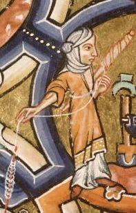 Eve filant, bible de Manerius