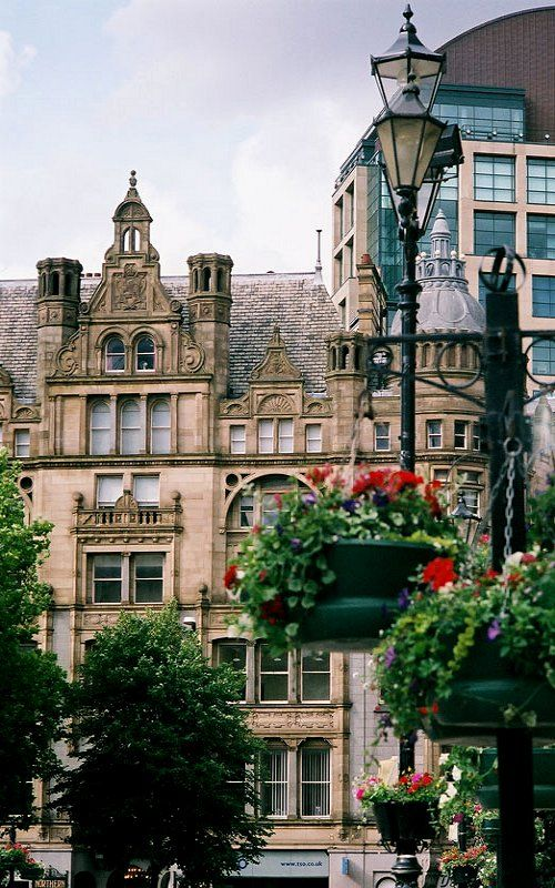 Albert Square, Manchester, England (by Timothy Tolle on Flickr)