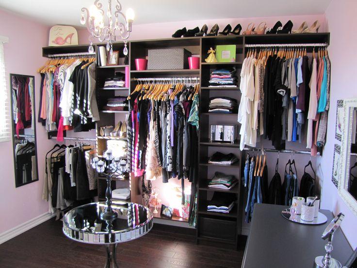 Begehbarer Kleiderschrank, der Traum jeder Frau | Extra bedroom ...