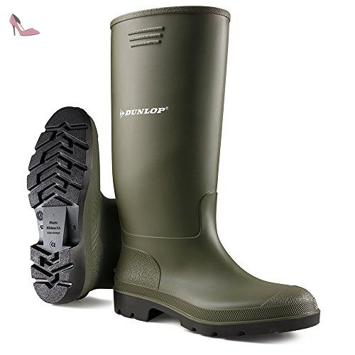 Grisport Dunlop Budget Welly, Chaussures Multisport Outdoor Mixte Adulte, Vert (Green), UK Size 3 (EU 36) - Chaussures dunlop (*Partner-Link)