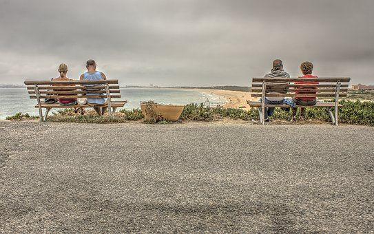 Пляж, Скамья, Стул, Береговая Линия