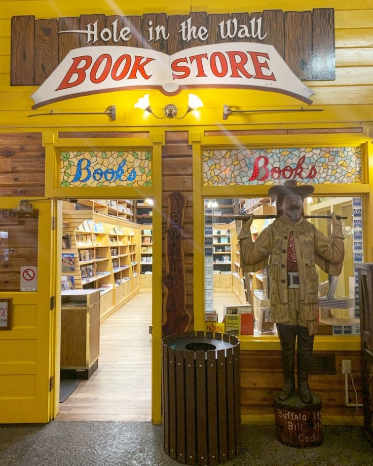 brandon dion hole in the wall book store is an on hole in the wall id=70111