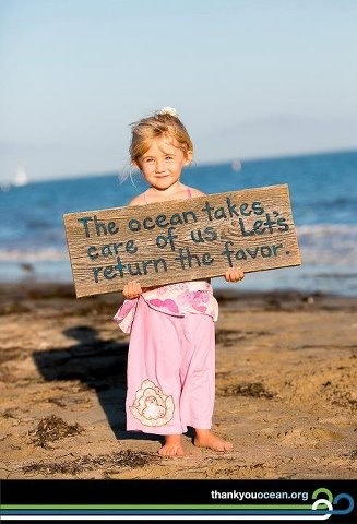 Pay it forward - Join a beach clean up or just go with your family! #fashiontakesaction