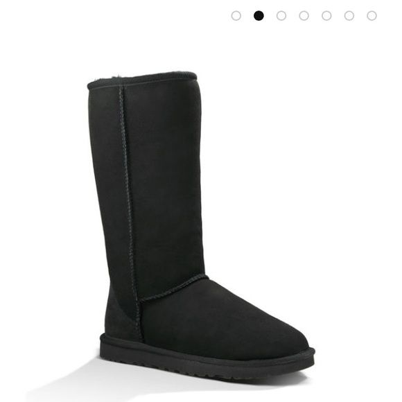 NWOT Tall black original ugg boots Worn a handful of times. Like new. No trades. UGG Shoes Winter & Rain Boots