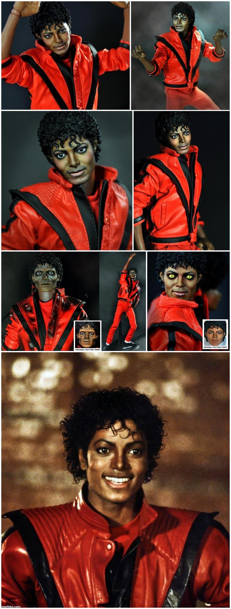 Micheal Jackson Thriller Doll (repainted by Noel Cruz)