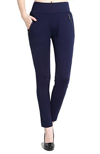 New Trending Pants: BodiLove Womens Slim Fit Performance Dress Pants with Zipper Pocket Navy M. BodiLove Women's Slim Fit Performance Dress Pants with Zipper Pocket Navy M   Special Offer: $17.40      244 Reviews Now you can go to work in a pair of Slim Fit Performance Dress Pants with Side Zip Pocket and then work out in the same pair pants like stretchy yoga pants. These...
