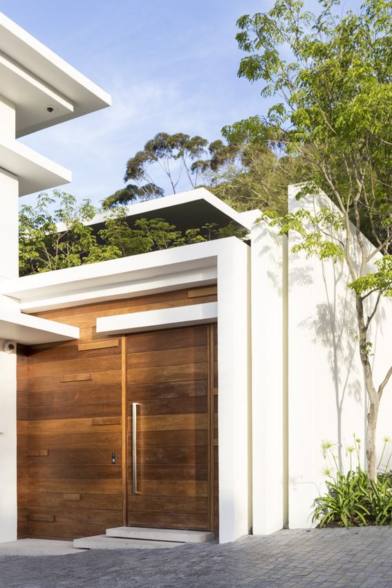Entrance to our Fresnaye house