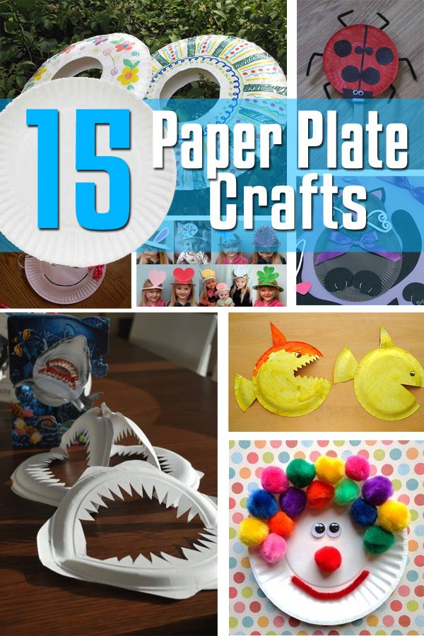15 Paper Plate Crafts