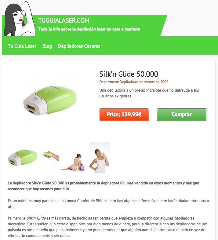 La depiladora Silk'n Glide 50.000 viene a un precio increíble ain que no defraude a los usuarios exigentes. Lee nuestros análisis en en tuguialaser.com #Depilacion #IPL #Fotodepilacion #LuzPulsada #Casera #Personal #Domestica #Diodo #Laser #Depiladora #Opiniones