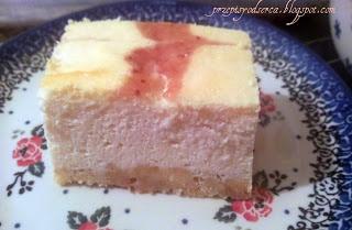 Rasberry cheesecake /Sernik malinowy