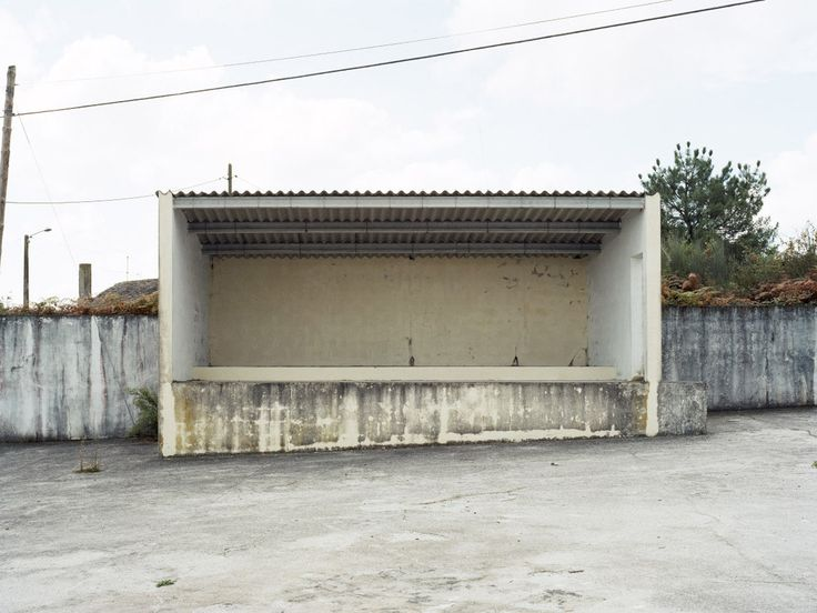 Abandoned open-air platforms in rural Spain captured by Luis Díaz Díaz