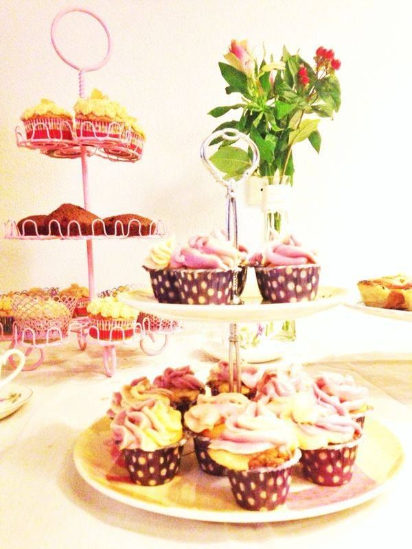 Milka cupcakes