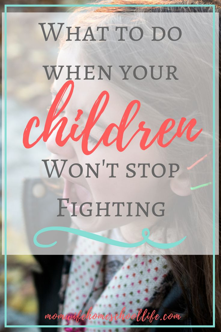 What to Do When Your Children Won't Stop Fighting With our Sabbath Schooling schedule, we take a lot of time off during the Fall and Winter. All of our birthdays are in the Fall, not to