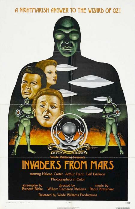 The 1953 classic sci-fi movie poster. A young boy learns that space aliens are taking over the minds of earthlings.