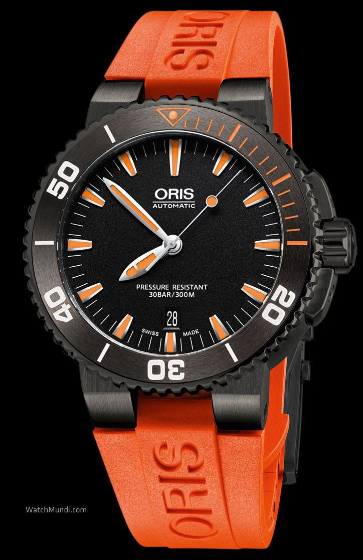dial oris diver watch watches notices chronograph special pro
